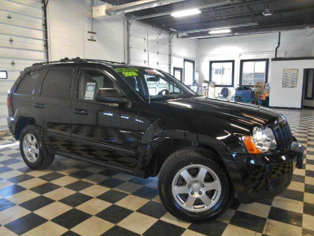 2009 JEEP GRAND CHEROKEE LAREDO 4X4 4DR SUV black clean carfax  one owner smoke free interior