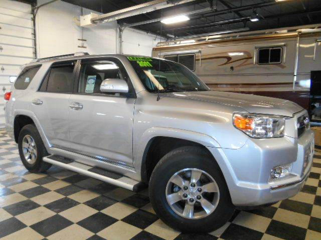 2011 TOYOTA 4RUNNER SR5 4X4 4DR SUV silver metallic clean carfax  smoke-free interior  upgraded