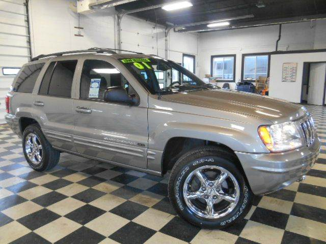2001 JEEP GRAND CHEROKEE LIMITED 4WD 4DR SUV silver please do not reply via carguruscom  top-of