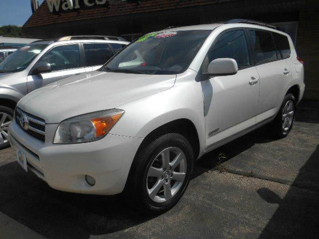 2008 TOYOTA RAV4 LIMITED 4X4 4DR SUV white fantastic condition top-of-the-line limited edition wi