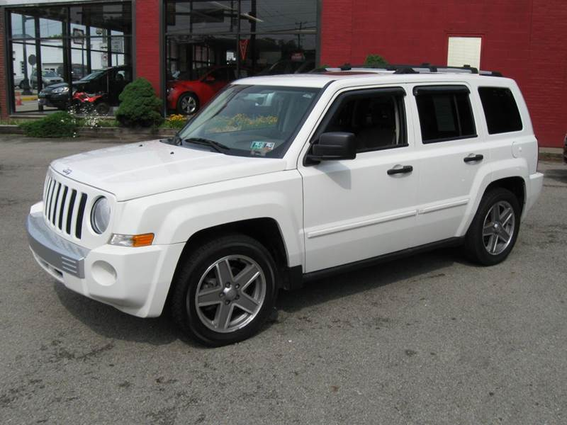 2007 jeep patriot limited 4x4 4dr suv in houston pa. Black Bedroom Furniture Sets. Home Design Ideas