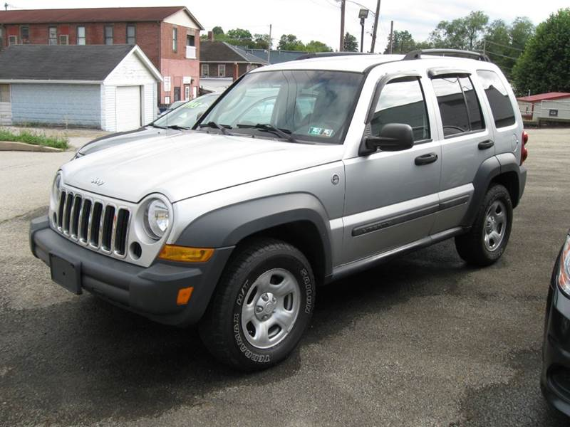 2006 Jeep Liberty Sport 4dr Suv 4wd In Houston Pa Arnold