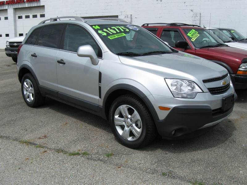 2015 Chevrolet Captiva Sport Fleet Ls 4dr Suv W 2ls In