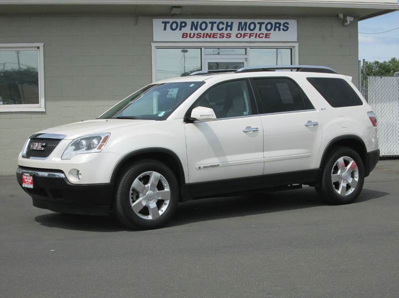 2007 gmc acadia awd slt 2 4dr suv in yakima wa top notch. Black Bedroom Furniture Sets. Home Design Ideas
