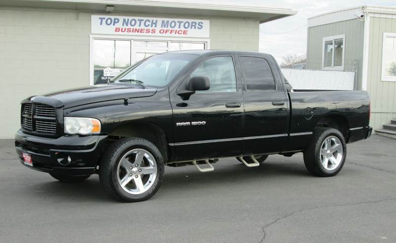 2003 Dodge Ram Pickup 1500 4dr Quad Cab Slt 4wd Sb In