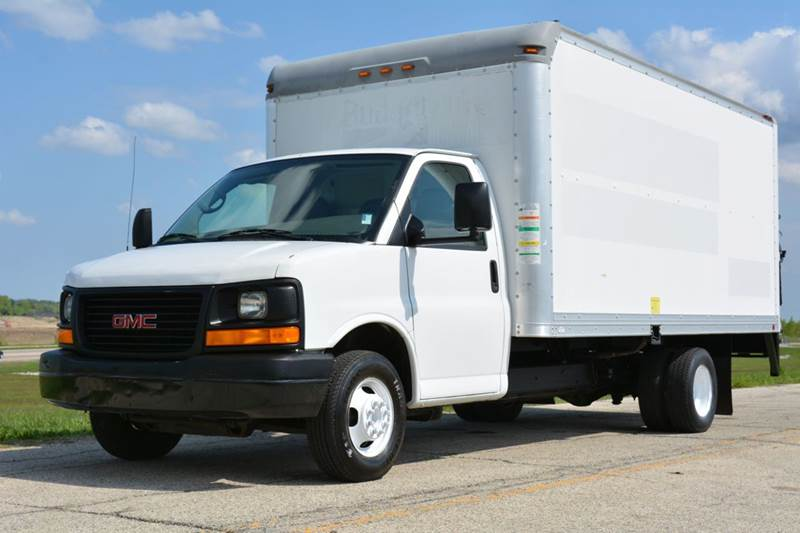 2008 gmc savana 3500 16ft box truck w in crystal lake il. Black Bedroom Furniture Sets. Home Design Ideas