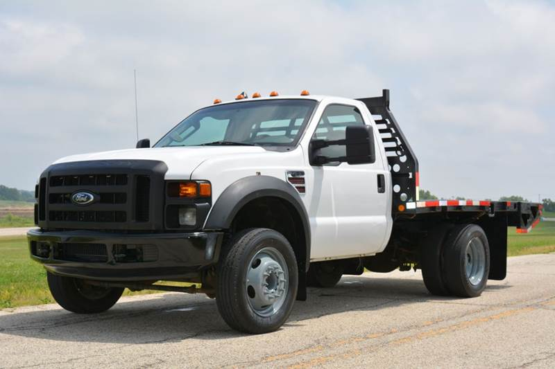 2008 ford f 450 xl super duty flatbed in crystal lake il. Black Bedroom Furniture Sets. Home Design Ideas