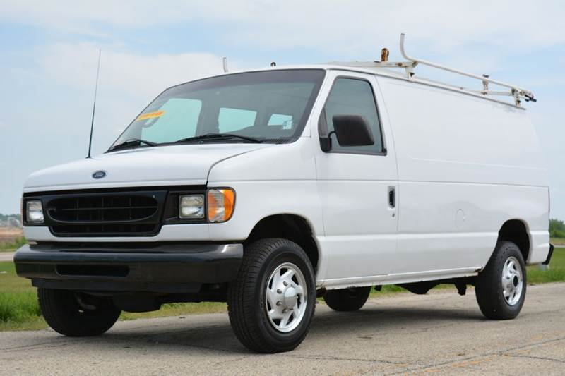 2001 ford e 250 cargo van in crystal lake il signature. Black Bedroom Furniture Sets. Home Design Ideas