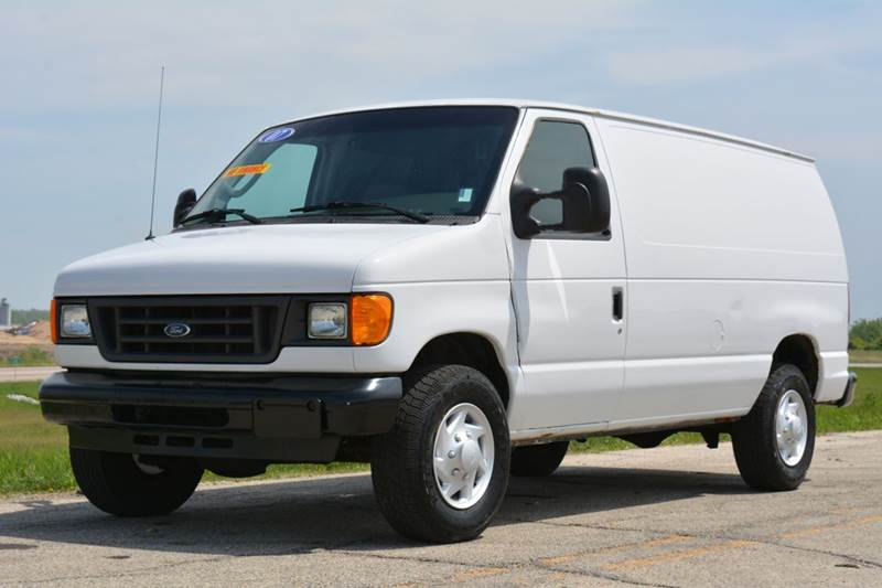2007 ford e 250 cargo van in crystal lake il signature. Black Bedroom Furniture Sets. Home Design Ideas