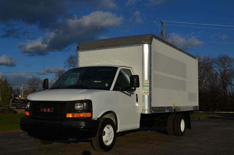 2008 gmc savana 3500 16ft box truck in crystal lake il. Black Bedroom Furniture Sets. Home Design Ideas