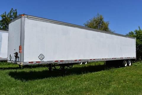 2000 Wabash 53ft Dry Semi Trailer