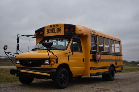 2006 Ford E-450 21 Passenger School Bus for sale in Crystal Lake, IL