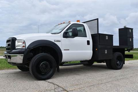 2006 Ford F-450 XL 4x4 9ft Flatbed for sale in Crystal Lake, IL