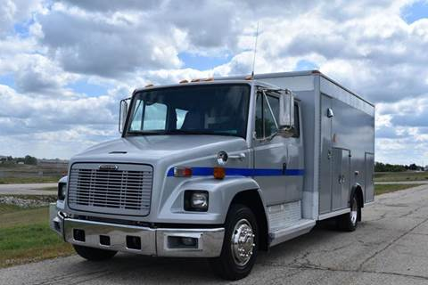 1998 Freightliner FL 60 Walk In Service Truck  for sale in Crystal Lake, IL