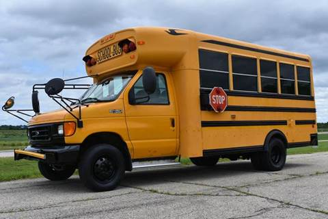 2003 Ford E-450 18 Pass. School Bus  for sale in Crystal Lake, IL