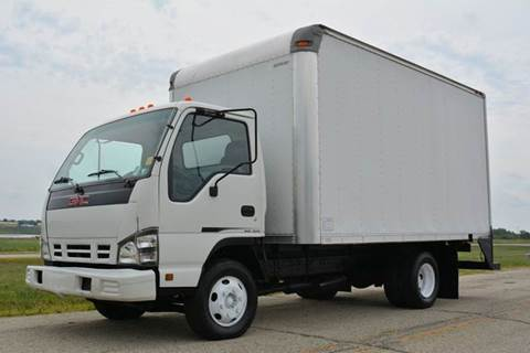 2006 GMC W3500 14ft Box Truck