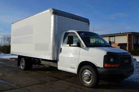 2008 GMC Savana 16ft Box Truck