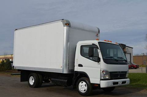 2008 Mitsubishi Fuso 14ft Box Truck