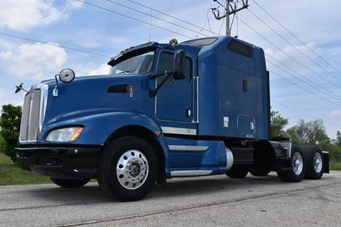 2009 Kenworth T660 Sleeper Cab Semi for sale in Crystal Lake, IL