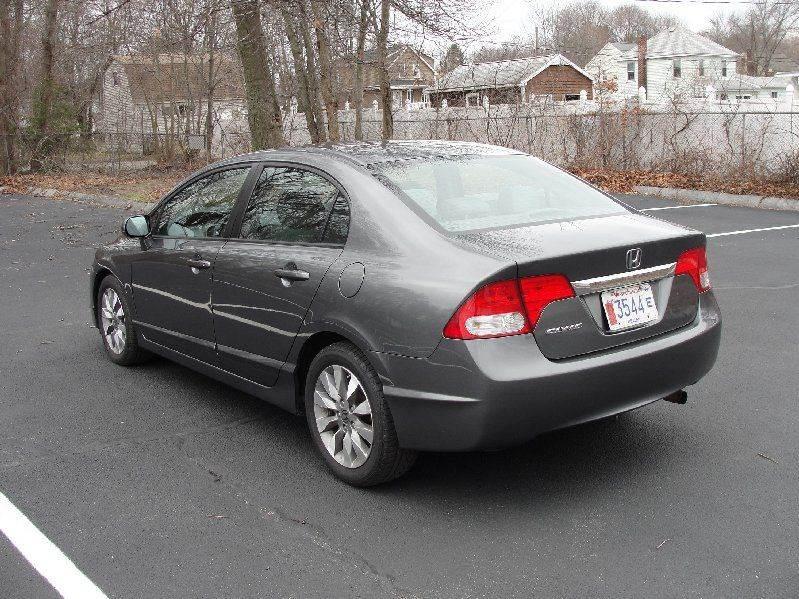 2010 Honda Civic EX 4dr Sedan 5A - North Attleboro MA