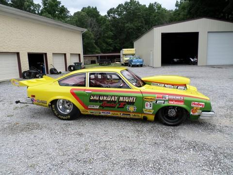 1977 Chevy Vega Drag Car!