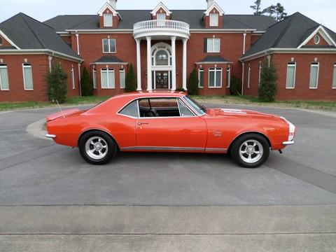 1967 RS SS Camaro 4-Speed Huggar Orange