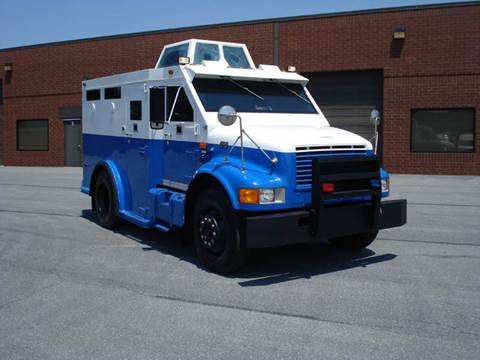 1996 International 4700 Armored POLICE  Vehicle