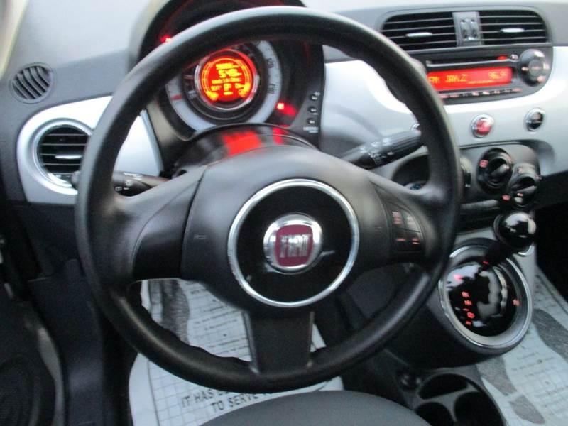 2012 FIAT 500 Pop 2dr Hatchback - Mt Olive NC