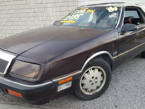 1989 Chrysler Le Baron for sale in El Paso, TX