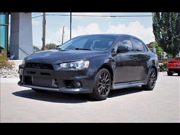 2012 Mitsubishi Lancer Evolution for sale in Reno, NV