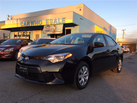 Toyota corolla for sale whittier ca for Valley view motors whittier ca