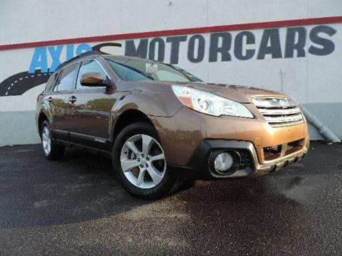 2013 Subaru Outback For Sale