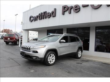 2016 Jeep Cherokee for sale in Overland Park, KS