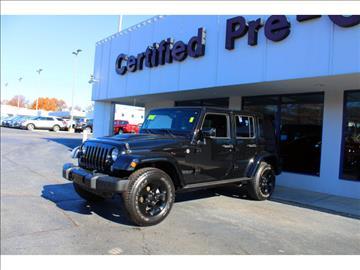 2015 Jeep Wrangler Unlimited for sale in Overland Park, KS