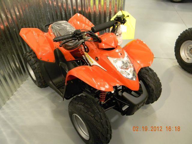2012 Kymco Mongoose 90R ATV w/ reverse - VANCOUVER WA