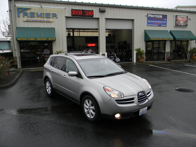 2006 subaru b9 tribeca awd limited 5 passenger 4dr suv w. Black Bedroom Furniture Sets. Home Design Ideas