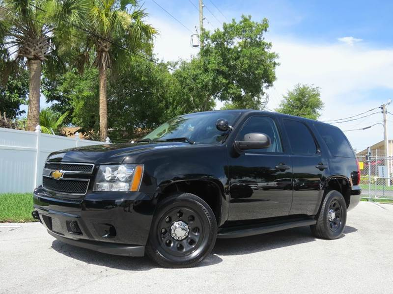 2012 chevrolet tahoe police 4x2 4dr suv in largo fl. Black Bedroom Furniture Sets. Home Design Ideas
