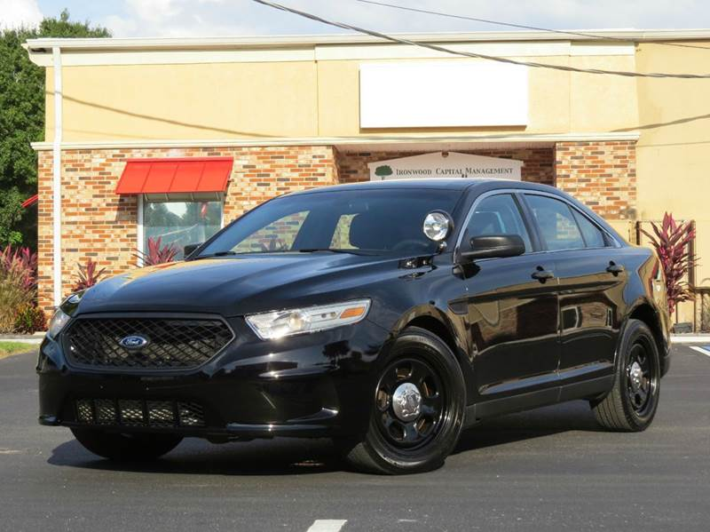 SOLD! & 2013 Ford Taurus Police Interceptor AWD 4dr Sedan In Largo FL ... markmcfarlin.com