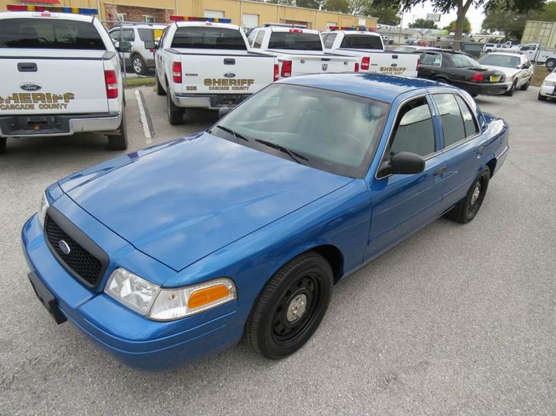 2008 Ford Crown Victoria Police Interceptor 4dr Sedan (3.27 Axle) w/Driver and Passenger Side Air Bags - Largo FL