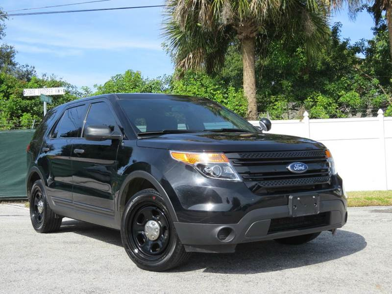 2015 Ford Explorer Police Interceptor Awd 4dr Suv In Largo Fl Classic Automobile Co Inc