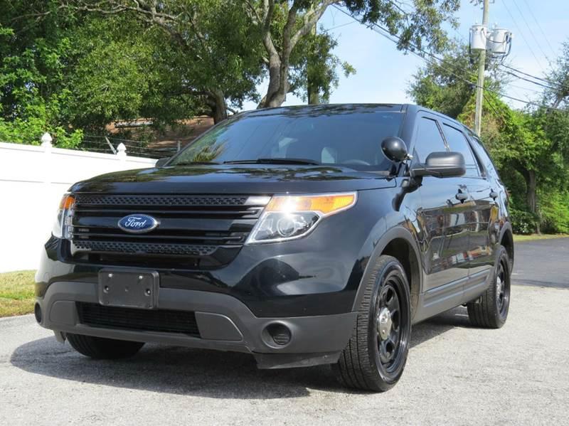 2015 ford explorer police interceptor awd 4dr suv in largo. Black Bedroom Furniture Sets. Home Design Ideas