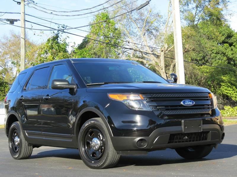2013 Ford Explorer Police Interceptor AWD 4dr SUV - Largo FL