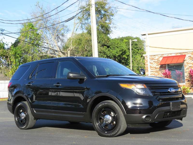 2013 ford explorer police interceptor awd 4dr suv in largo clearwater. Cars Review. Best American Auto & Cars Review