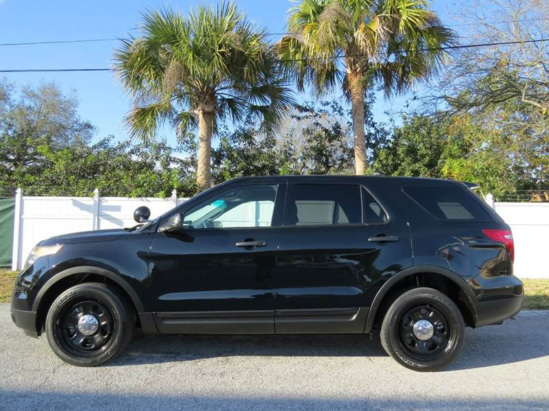 2013 ford explorer police interceptor awd 4dr suv in largo fl classic automobile co inc. Black Bedroom Furniture Sets. Home Design Ideas