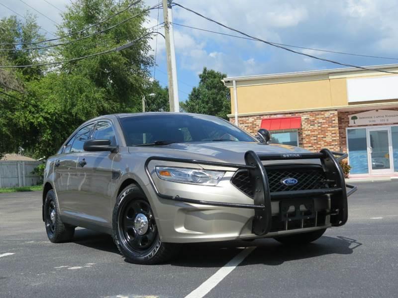 2013 ford taurus police interceptor awd 4dr sedan in largo fl classic automobile co inc. Black Bedroom Furniture Sets. Home Design Ideas