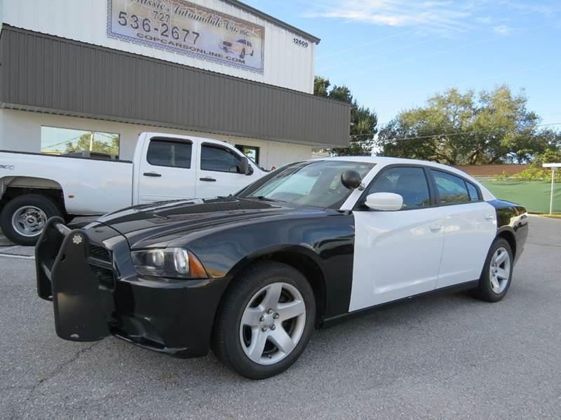 2011 dodge charger police 4dr sedan in largo fl classic. Black Bedroom Furniture Sets. Home Design Ideas