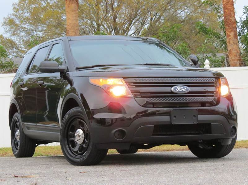 2013 Ford Explorer Police Interceptor AWD 4dr SUV - Largo FL