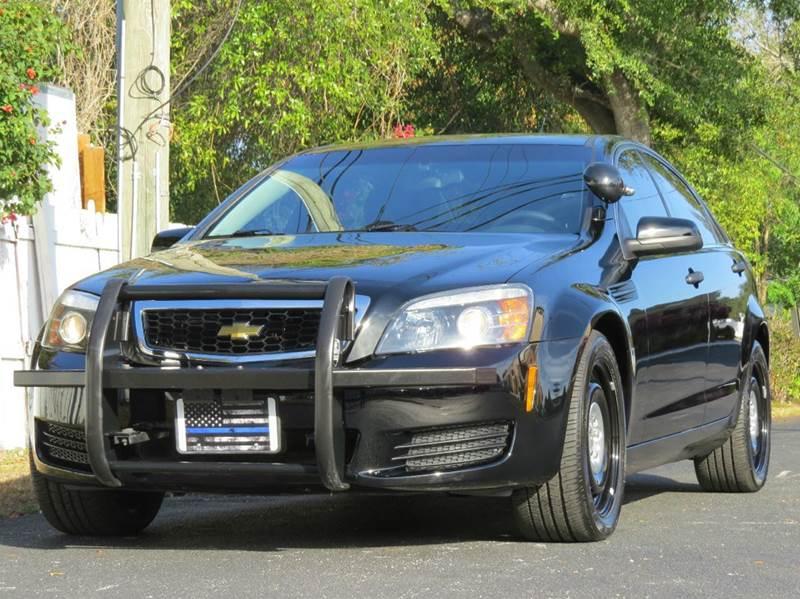 2012 Chevrolet Caprice Police 4dr Sedan w/1SB - Largo FL