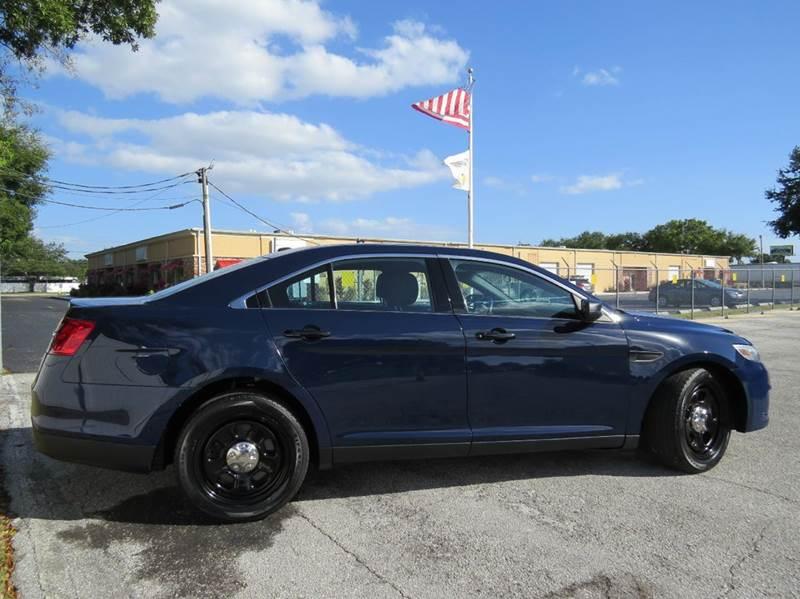 2013 ford taurus police interceptor 4dr sedan in largo fl classic automobile co inc. Black Bedroom Furniture Sets. Home Design Ideas