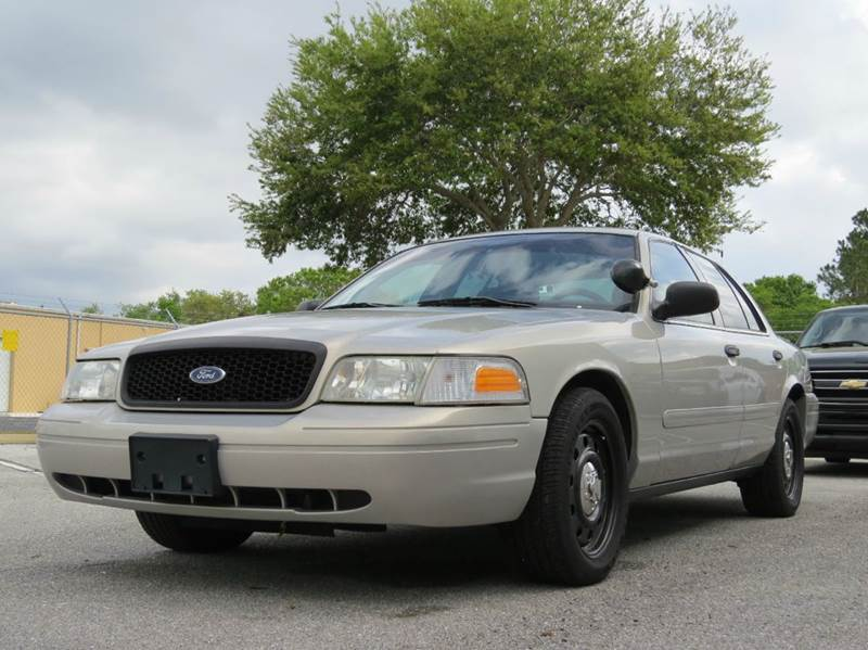 2007 ford crown victoria police interceptor 4dr sedan axle in largo fl classic. Black Bedroom Furniture Sets. Home Design Ideas